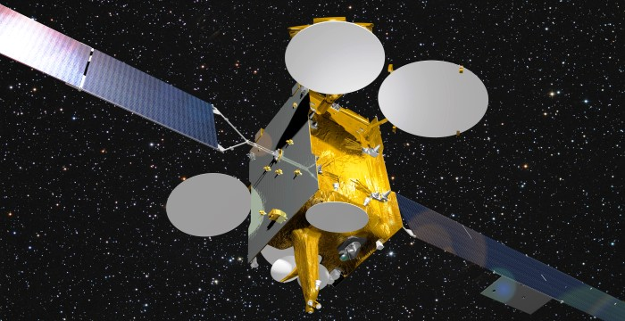 Ариан -5 от Arianespace запустит суперсовременный европейский спутник связи