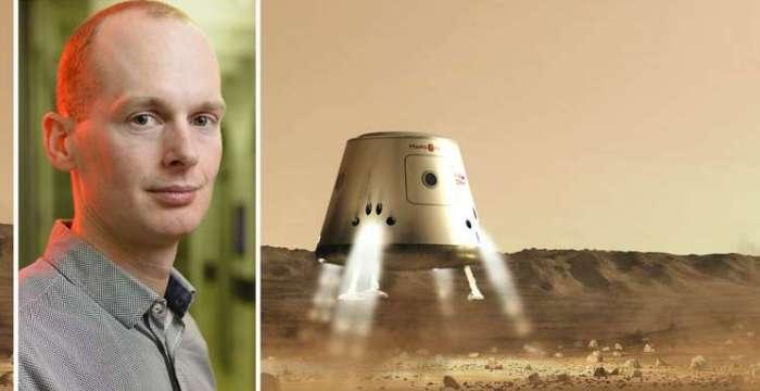 Бас отправляется на Марс. Бас Лэнсдорп, президент и соучредитель проекта Mars One