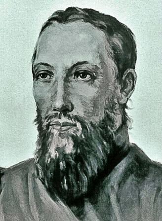 Никита Яковлевич Бичурин. Иакинф, художник Никалай Бестужев 1830 год, акварель