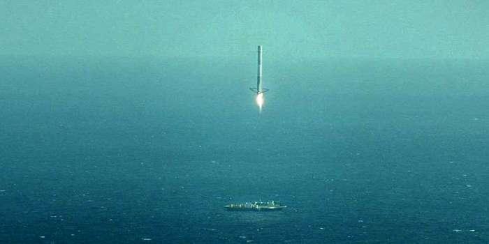 Возврат первой ступени Falcon-9. Основная причина неудачи