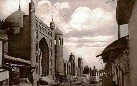 Город камень - Ташкент.