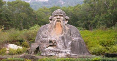 Даосизм. Опыт историко-регионоведческого описания. Статуя Лао Цзы