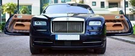 """Его Величество - Rolls Royce Wraith. Двери """"Берегись автомобиля"""""""