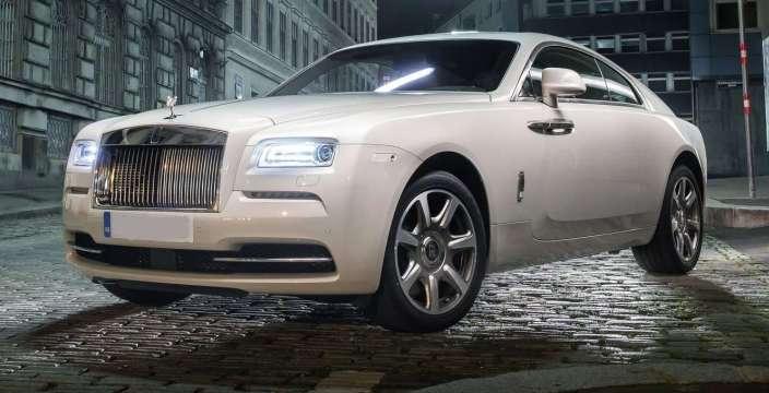 Его Величество - Rolls Royce Wraith