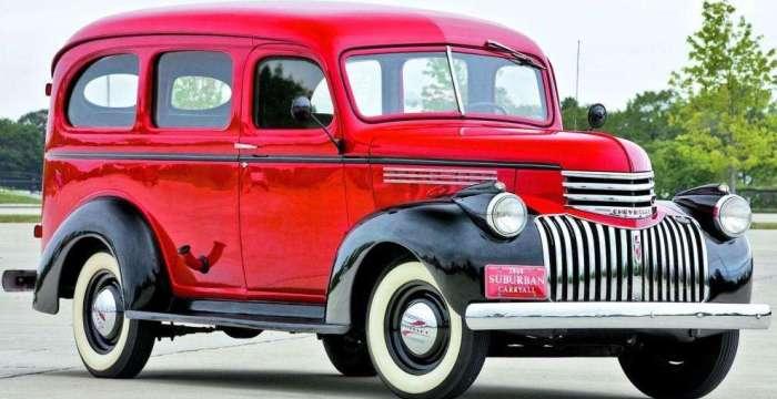 Из леса – прочь! Краткая история SUV. 1941 Chevrolet Carryall Suburban