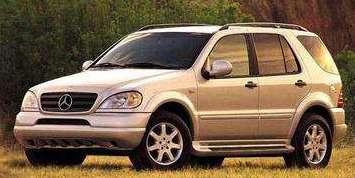 Из леса – прочь! Краткая история SUV. Mercedes ML на платформе W163 образца 1998