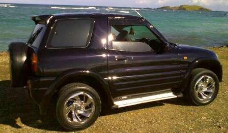 Из леса – прочь! Краткая история SUV. Toyota RAV-4 1996