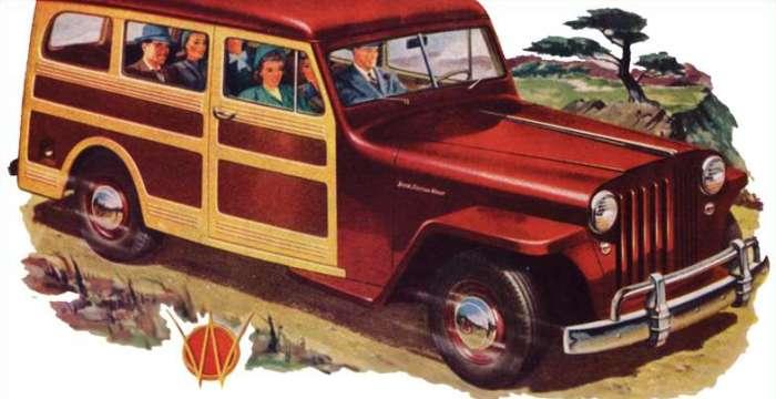 Из леса – прочь! Краткая история SUV. Willys-overland Jeep Station Wagon 1946