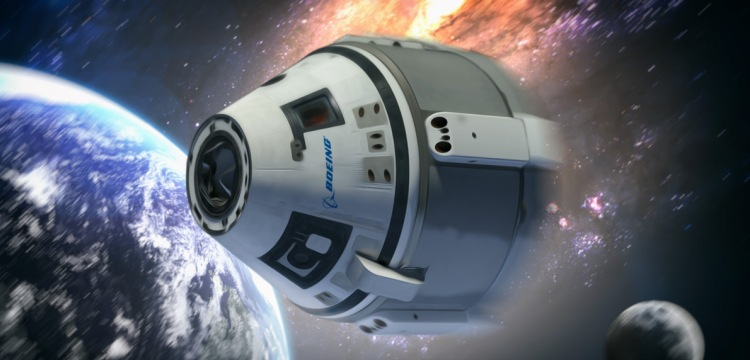 Компания Боинг станет первой частной компанией, которая доставит человека в космос. Boeing CST-100