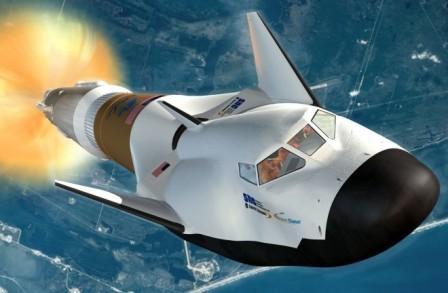 Компания Боинг станет первой частной компанией, которая доставит человека в космос. Dream Chaser SNC