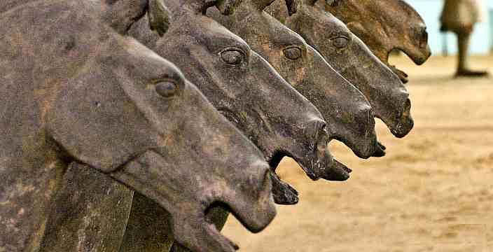 Кони. Терракотовая армия Императора Цинь Шихуан
