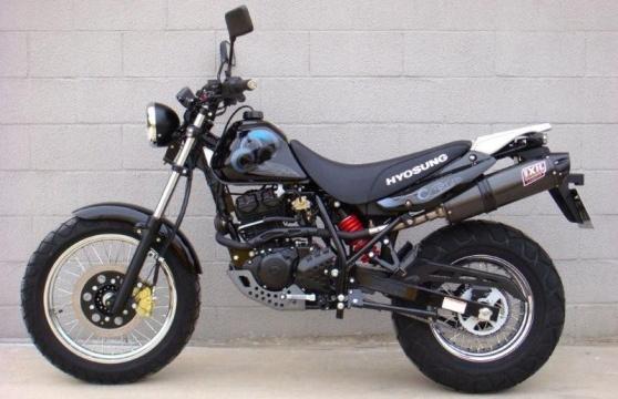 Корейские мотоциклы Hyosung rt125d
