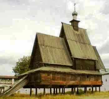 Красавица Кострома. Ипатьевский Монастырь ... Костромской архитектурно-исторический музей деревянного зодчества
