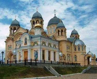 Крестовоздвиженский собор, Верхотурье, Урал
