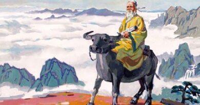 Даосизм. Опыт историко-регионоведческого описания. Лао Цзы верхом на быке. Художественный образ памятника перед монастырем Лоугуаньтай