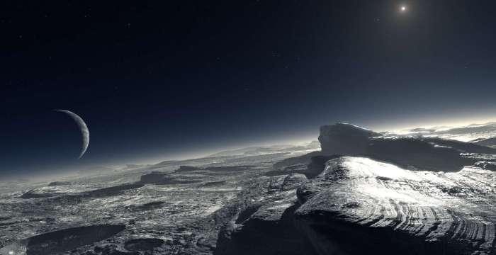 Ледяные горы и другие достопримечательности Плутона