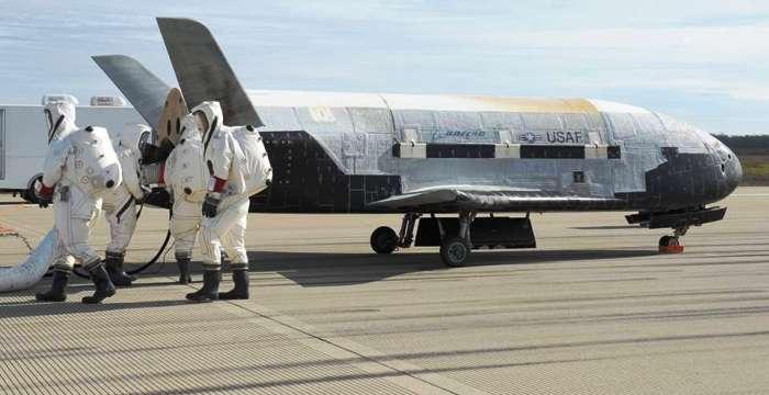 НАСА испытало новый беспилотник x37-b