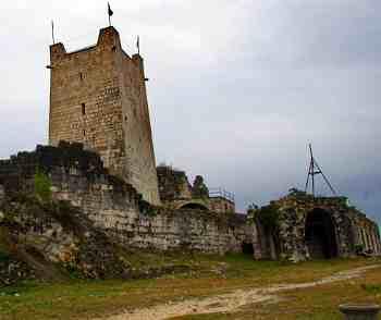 Ново-Афонский Симоно-Кананитский мужской монастырь, Анакопийская крепость