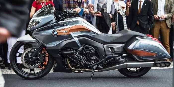 Новый концепт от BMW Motorrad. BMW 101 Concept