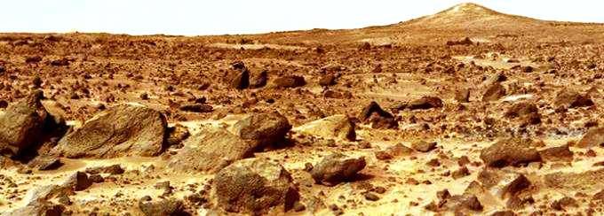 Океан на Марсе был! Это его дно.