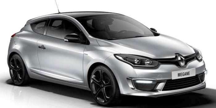 Первые сведения об автомобиле Renault Megane