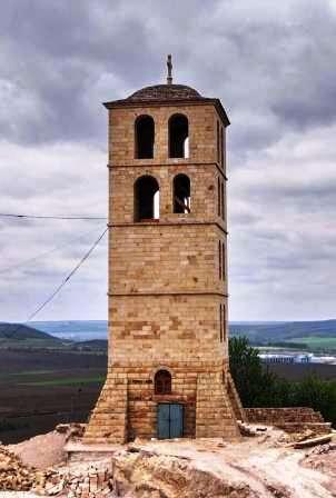 Подольский Афон - Скальный монастырь в Лядово. Колокольня