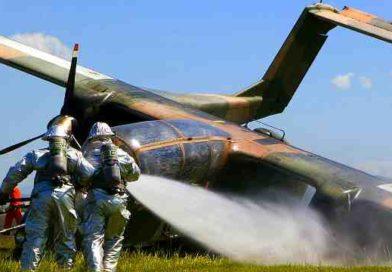 Пожарная безопасность. Учения военных пожарных