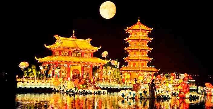 Праздник середины осени в Китае Доклад по Китайскому языку 5 класс