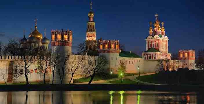 Рождество! Торжество Монастырей. Новодевичий Монастырь. Москва