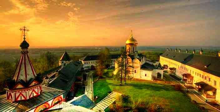 Саввино-Сторожевский монастырь. Звенигород. Верхний Посад.