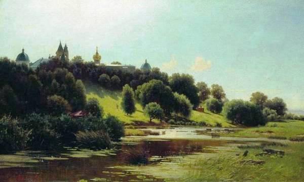 Саввино-Сторожевский монастырь. 1880-е. Каменев Лев Львович (1833-1886)