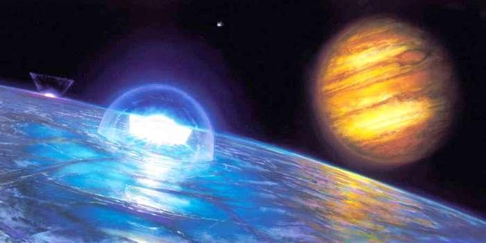 Спутник Юпитера-Европа. Исследование планет и их спутников.