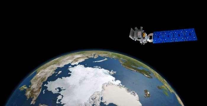 Топографический спутник ICESat-2 готовится к полету в 2017
