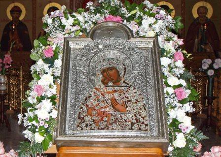 Феодоровская икона Божией Матери. Богородице-Рождественский Бобренев мужской монастырь