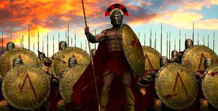Фермопильское сражение. Подвиг греков при Фермопилах. 300 Спартанцев. Царь Леонид и его войны