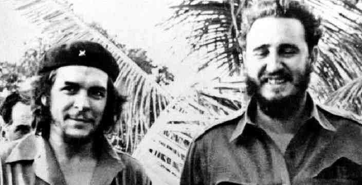 Фидель Касто Рус и Че Гевара (символ революций всего мира)