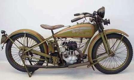 Харли-Девидсон, что правда, что миф. 1926 Harley-Davidson 26-В