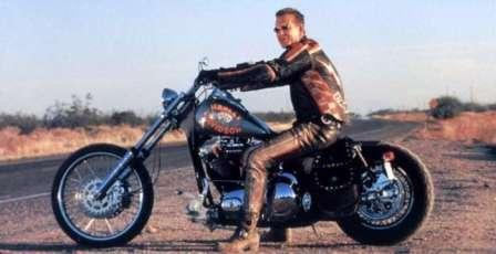 Харли-Девидсон, что правда, что миф.  Harley-Davidson и Мики Рурк