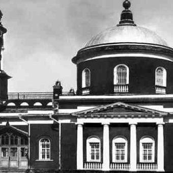 Церковь Воздвижения Креста Господня Коломна XIX век. Коломенские Монастыри