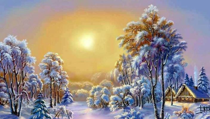 Волшебница Зима! Сочинение 4 класс Вася Кузнецов 1948