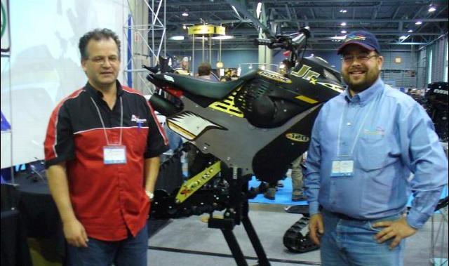 Denis Boivin и Hawk Jr.X120 Андрей Сабуров