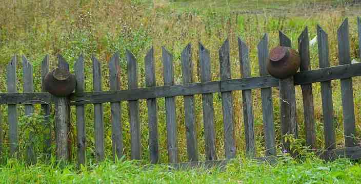 3. И время остановилось... Карелия. Мунозеро. Карельский забор.