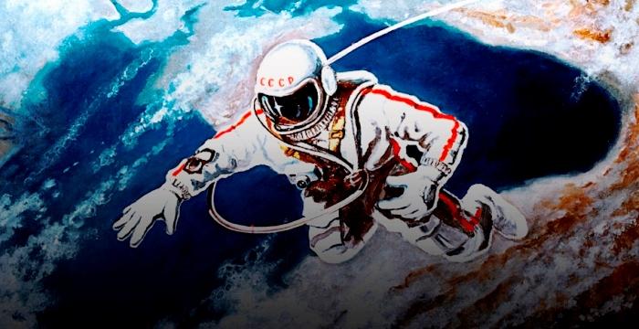 50-летие выхода человека в открытый космос. Алексей Леонов Первый!