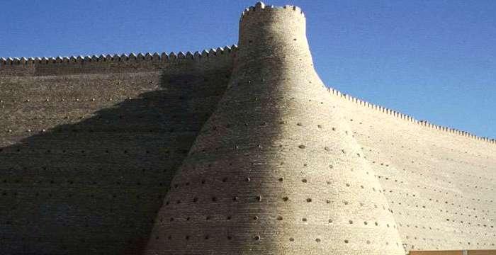 500 лет до нашей Эры, Арк - Бухара - Монастырь