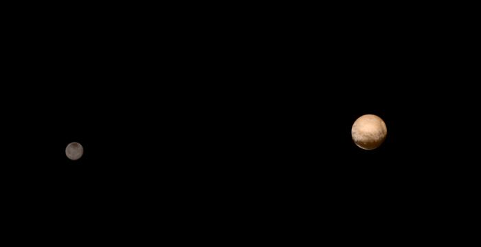 New Horizons - связь восстановлена! новое фото от межпланетного зонда
