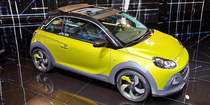 Opel Adam Rocks S – хэтчбек в маске кроссовера